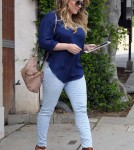 Hilary Duff Steps Out For First Time Since Having Her Baby