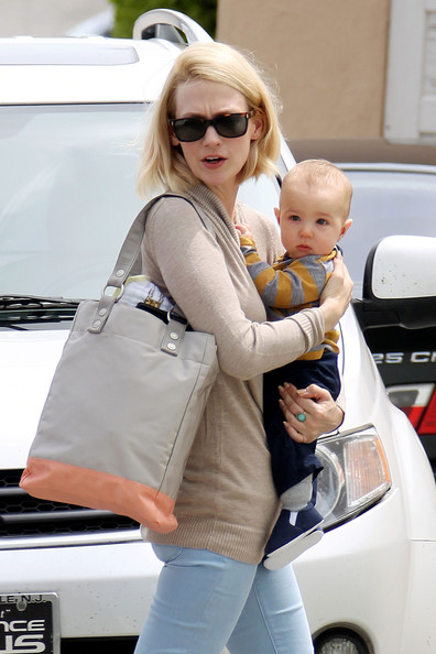 January Jones & Xander Visit The Doctor