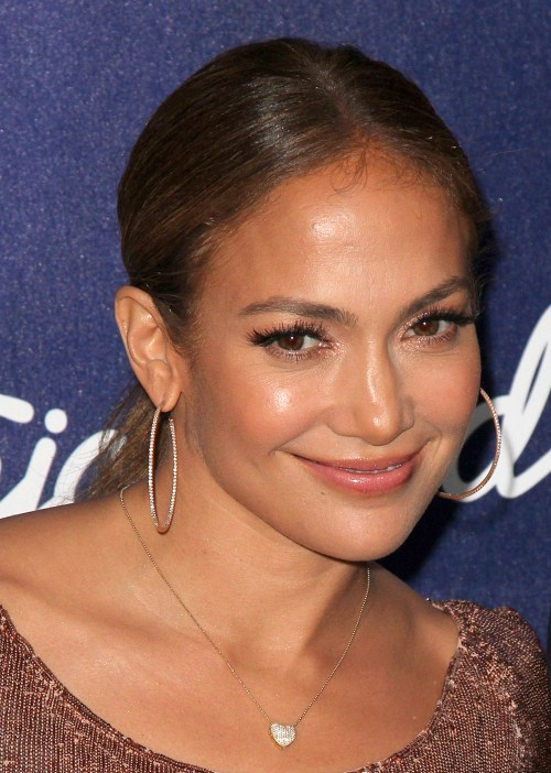 Jennifer Lopez at American Idol Season 11 Finalists Party held at The Grove in Los Angeles, California on March 1st, 2012.