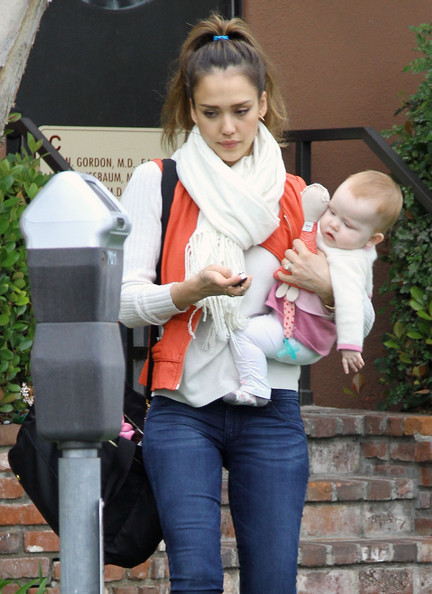 Jessica Alba Takes Haven For A Check-Up