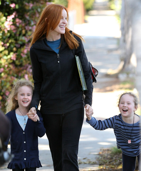 Marcia Cross' School Run