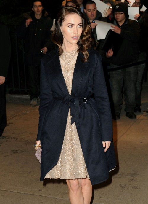 """Megan Fox at the Cinema Society & People StyleWatch with Grey Goose hosts a screening of """"Friends With Kids,"""" held at the SVA Theater in New York City, New York on March 5, 2012"""