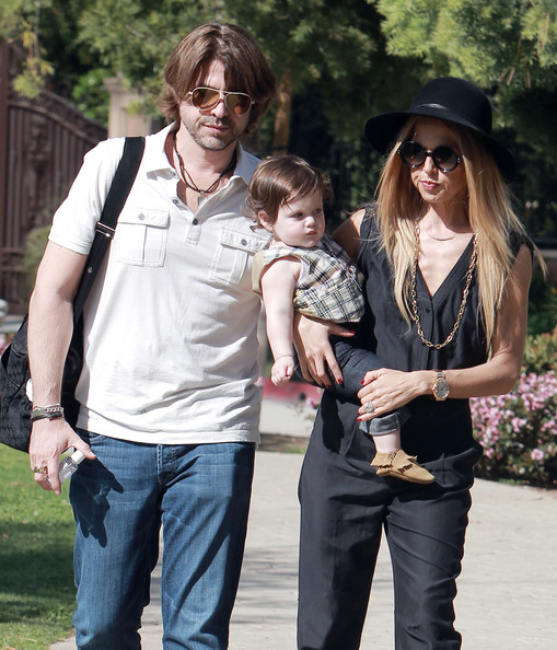 Rachel Zoe's Fashionable Park Day With Her Boys