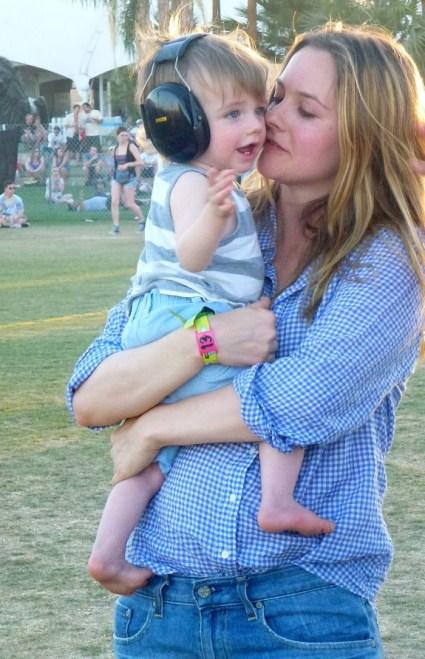 Alicia Silverstone Takes 11 Month Old Son To Coachella