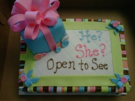 More Countries join US craze for Baby Shower Cakes That Reveal Baby's Sex