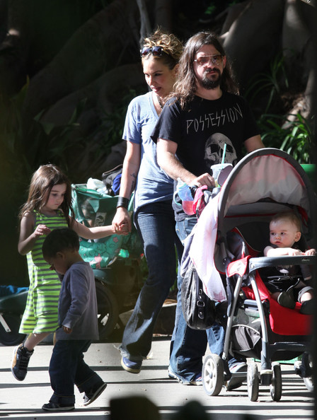 Drea de Matteo & Shooter Jennings Family Zoo
