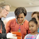 Michelle Obama says she's the best role model for her girls