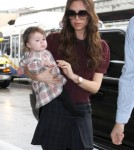 Harper Beckham gets first modeling offer0430