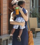 Sandra Bullocks shops with Louis... and new man?0430