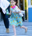 Katie Holmes And Suri Cruise At Chelsea Piers
