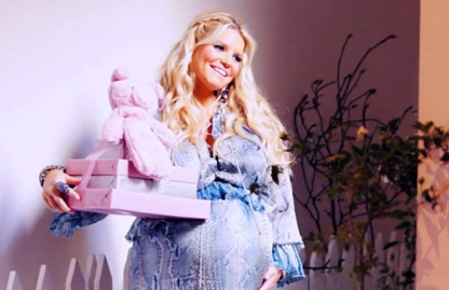 Jessica Simpson celebrates with a Charlotte's Web shower for baby 0428