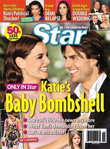 Katie Holmes Pregnant!