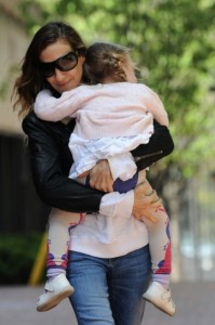 Sarah Jessica Parker Out And About With Twins Loretta And Tabitha