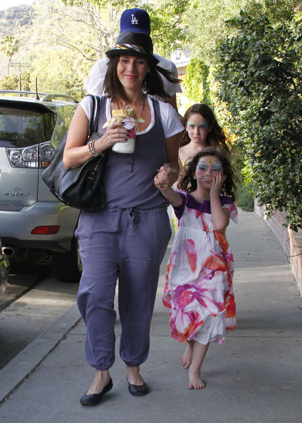 Soleil Moon Frye's Easter Party With Family