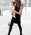 Victoria Beckham And Daughter Harper Make A Stylish Pair
