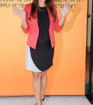 Vanessa Minnillo Lachey promoting her new campaign in the 2012 Take a Load Off Laundry Lounge NYC April 18th I