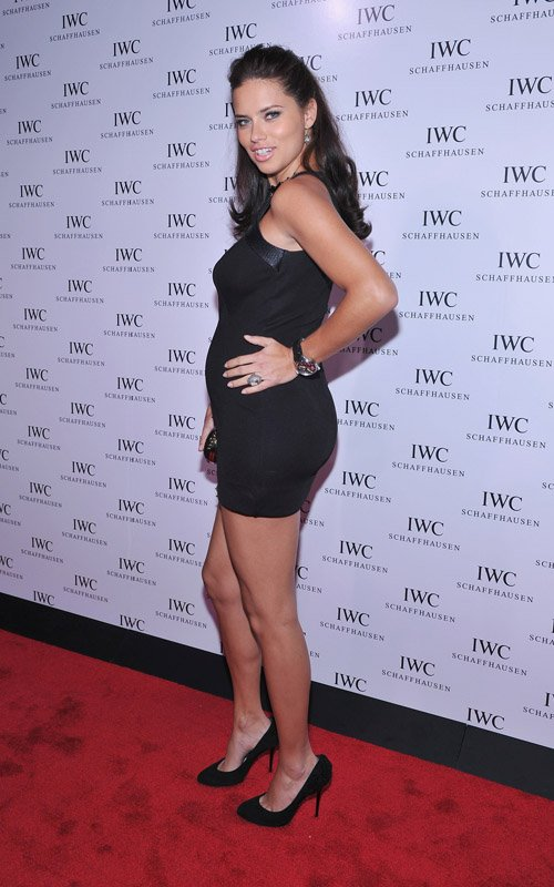 Adriana Lima at the IWC Flagship Boutique New York City Grand Opening (April 25)