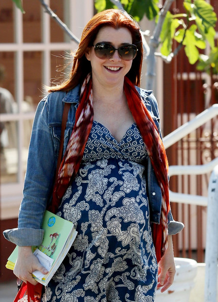 Alyson Hannigan Not Bikini Ready After Giving Birth