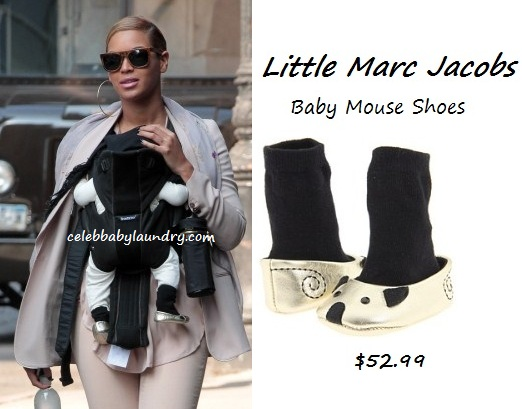 Celeb Baby Style: Newborn Baby Shoes