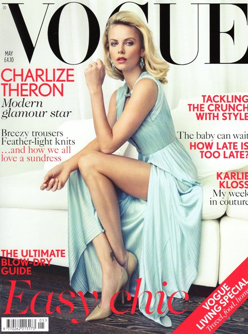 CharlizeTheron Vogue Uk 0512
