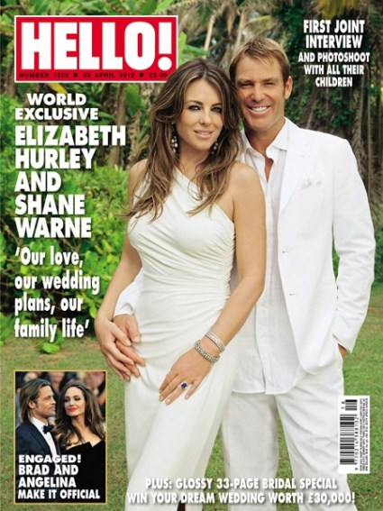 Gossip Girl's Elizabeth Hurley Talks About Becoming a Stepmother