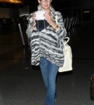 Kate Hudson arrives at LAX with son Bingham - April 17