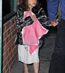 Katie Holmes and Suri in New York City (April 25).