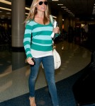 Kristin Cavallari arrives at LAX looking very pregnant. April 10 2012