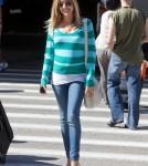 Kristin Cavallari arrives at LAX looking very pregnant. April 10 2012