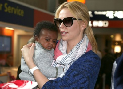 Charlize Theron can't remember life before motherhood