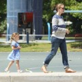 Jennifer Garner and Seraphina enjoy day at the park 0516