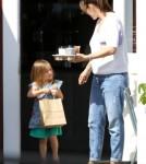 Jennifer Garner Makes Coffee Run With Seraphina 0525