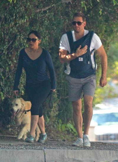 Curtis Stone And Lindsay Price Go Hiking With Hudson (Photos)