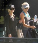 Pregnant Reese Witherspoon Working A Sweat At The Tennis Courts Again 0524