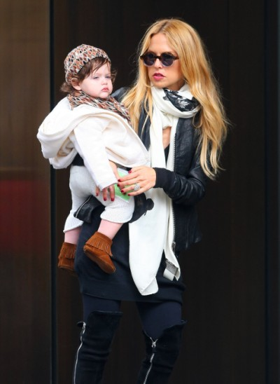 Rachel Zoe, stylist to the stars and her son 0506