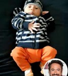 Robert Downey, Jr. debuts son, Exton Elias 0504