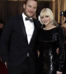 Anna Faris & Chris Pratt At The 2012 Academy Awards
