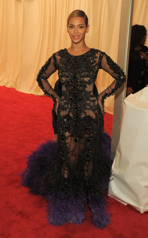 Beyonce at the 2012 MET Costume Gala