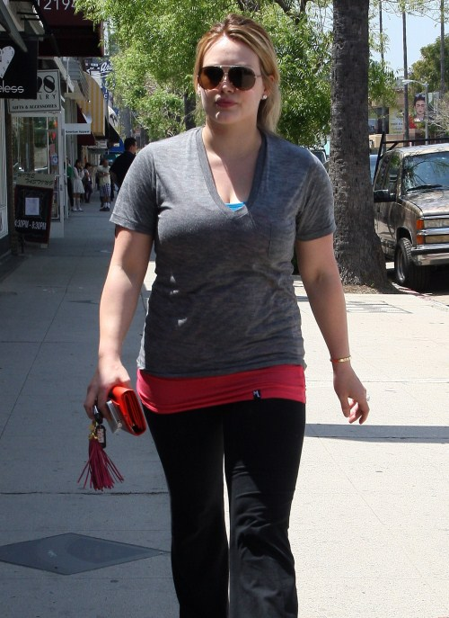 """Hilary Duff: """"I'm Not Stressing"""" About Losing The Baby ..."""