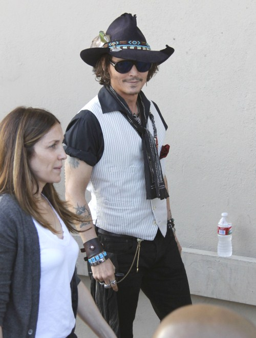 """Johnny Depp: """"I Was Angry And Frustrated Until I Started My Own Family"""""""