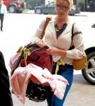 Katherine Heigl & daughter Adalaide arriving at Montage Beverly Hills - May 23