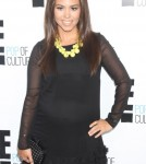 Kourtney Kardashian at E! 2012 Upfront at NYC Gotham Hall in New York City, New York on April 30, 2012.