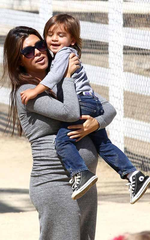 Kourtney Kardashian and Mason's Playdate in Calabasas, CA – May 5