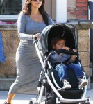 Kourtney Kardashian and Mason's Playdate in Calabasas, CA - May 5