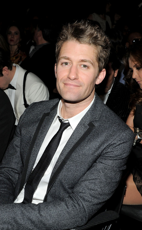 matthew morrison singing in the rain