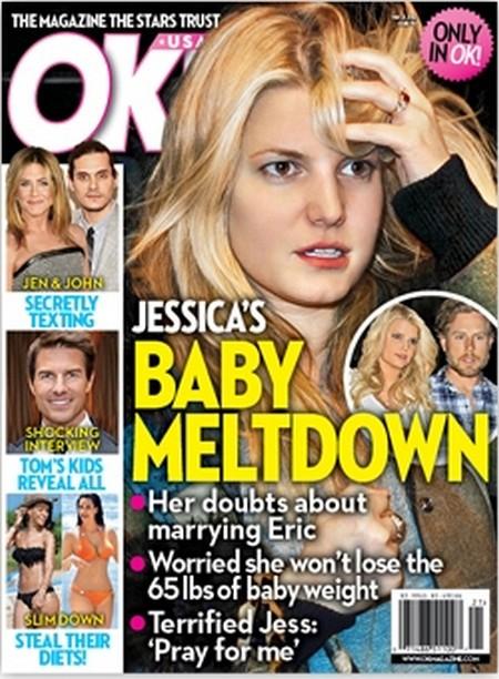 Baby Meltdown: Is Jessica Simpson Cracking Under Pressure?