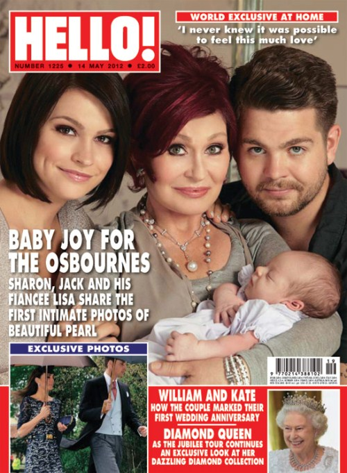 Jack Osbourne Debuts Daughter Pearl
