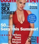 Pink Covers Cosmopolitian June 2012