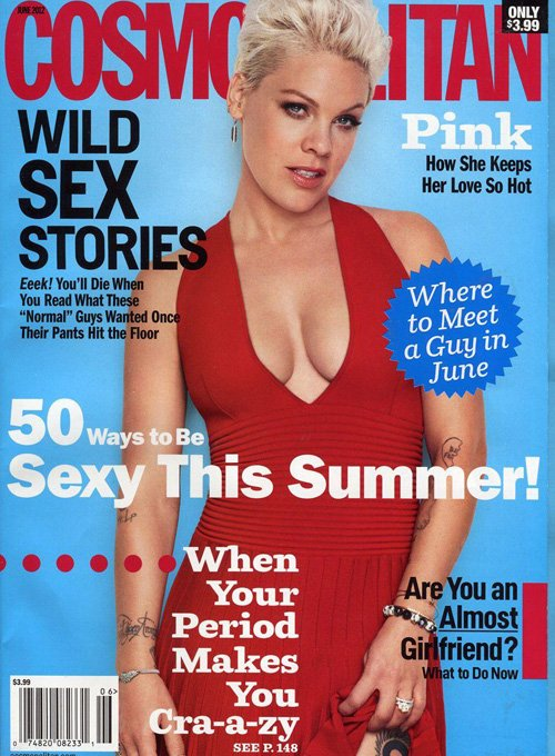 Pink Opens Up About Pregnancy & Motherhood