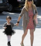 Sarah Michelle Gellar takes daughter Charlotte to ballet class in Studio City, CA - May 12